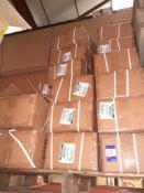 Approx. 20 Boxes X 240 White Cotton Tea Towels