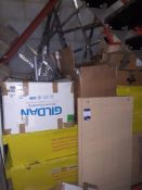 Quantity of Dismantled Retail Shelving & Shop Fittings