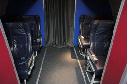 Flight Cabin Section Comprising of: - 8 Passenger