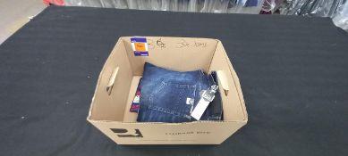 3 x Various designer jeans, 36W, Various lengths