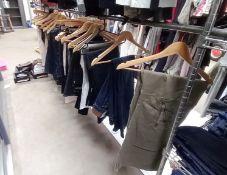 Approximately 85x Various Designer Ladies Jeans. Size 6 - 16
