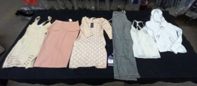 Large Quantity of Approximately 36 Box's of Various Designer Ladies Clothes, To Include Dresses, Jum
