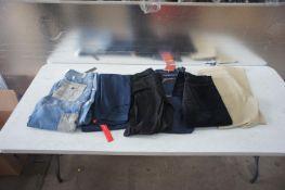 6 x Various designer jeans / casual trousers, Vari