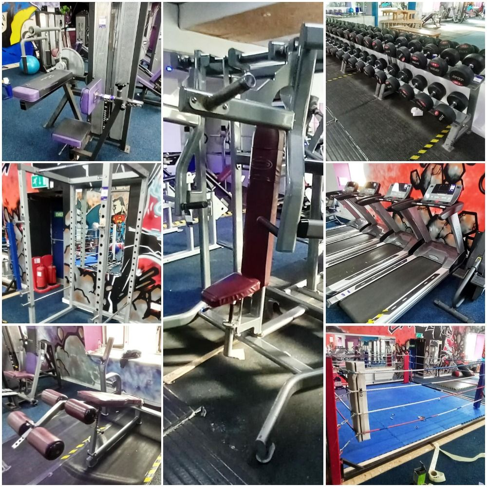 The Entire Contents of a Commercial Gym