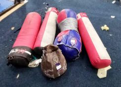 5 x various punch bags