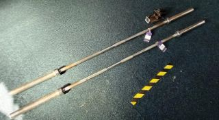 2 x Olympic Bars (20kg) with bar hinge