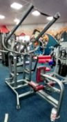 Unbranded Plate Loaded Lat Pull down machine