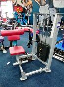 Unbranded Rack Weighted Abdominal Crunching Machine