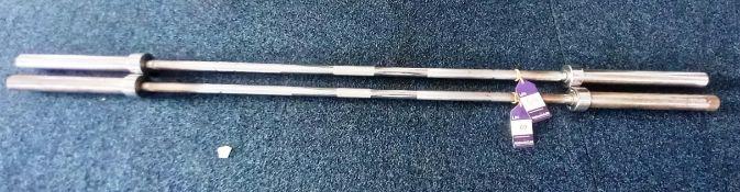 2 x Olympic Bars (20kg)