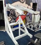 Unbranded Plate Loaded Shoulder Press