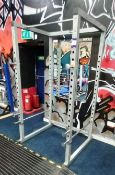 Gymano Squat Rack station with Pull up bar