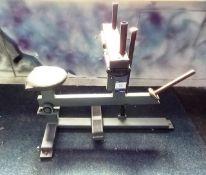 Unbranded Plate Loaded Calf Raising Machine