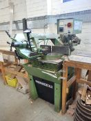 Pedrazzoli Brown 270 Horizontal Bandsaw with timber table