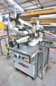 MACC Special 320 CS0 semi-automatic CNC Bandsaw, s/n 104613, year 2015 with Roller Feed and Roller
