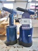 2 x Draper Pneumatic Riveters