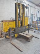Hunslet 1810-35, 4-way Side Loader, Electric, 1785kg capacity, lift height 3500mm, s/n R70483 with