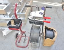 Banding Carts with Various Tools