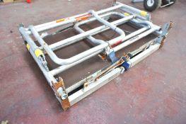 Aluminium Foldaway Podium Platform, SWL 2000Kg