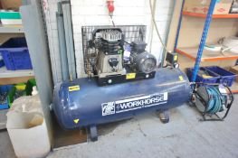 FiAC Workhorse Receiver Mounted Air Compressor, 3-phase