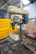 Fobco Pedestal Drill, 240v with table