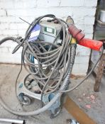 Heavy Duty Mobile Flexible Grinder Station, 3-phase
