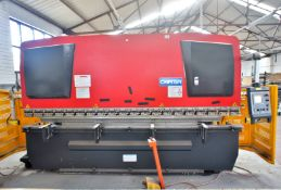 Carter WC67K-125x4000 CNC Pressbrake, 5-Axis, 4m width capacity, s/n P2017-0901, year 2017, Bend Cut