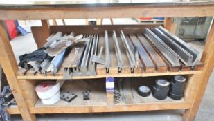 Qty of Pressbrake Tooling to Bench with 4m Bottom Tool