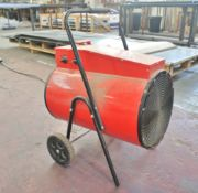 Portable Sealey 30Kw Space Heater, 3-phase
