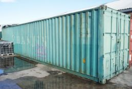 Steel Shipping / Storage Container, 40ft (Delayed Collection)