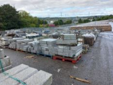 Approx 600 tonnes of granite and other natural stone products for hard landscaping, regeneration, an