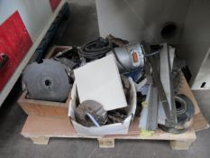 Pallet of Spares including cutting tools