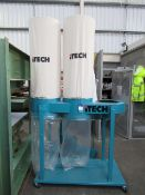 iTech DC5000 twin bag mobile dust extractor (no motor)