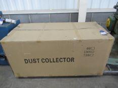 Boxed 5.5kW dust extractor- unused