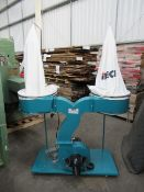 iTech DC002 twin bag mobile dust collector 240v 50Hz 2.2kW