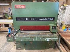Wadkin Stemac Model LCK 1100 Single Belt Sander