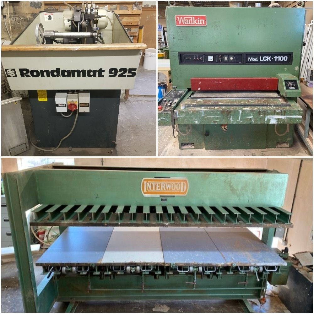 November Woodworking Machinery Auction