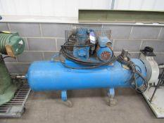 Rednal Pneumatics mobile compressor tank