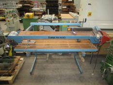 Luna YK 1500 face/edge belt sander