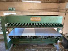 Interwood Cold Hydraulic Press 10ft x 4ft platen size