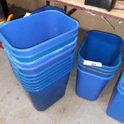 LOT: (14 pcs) Recycle Bins