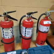 LOT: (3) Fire Extinguishers