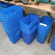 LOT: (24 pcs) Recycle Bins