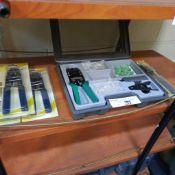 LOT: ( 4 pcs) Asst. Crimping Tools