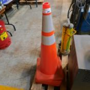 "LOT: (4) 36"" Traffic Cones"