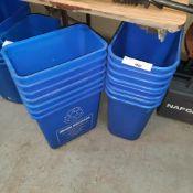 LOT: (15 pcs) Recycle Bins