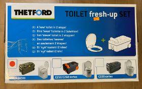 THETFORD TOILET FRESH-UP SET