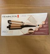 REMINGTON PROFESSIONAL PROLUXE 4 IN 1 ADJUSTABLE WAVER