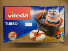 VILEDA TURBO MICROFIBRE 2 IN 1