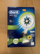 ORAL-B PRO 650 3D ACTION CROSS ACTION