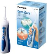 RRP £60 Panasonic EW1211 Rechargeable Dental Oral Irrigator with 2 Water Jet Modes, UK 2 Pin Plug